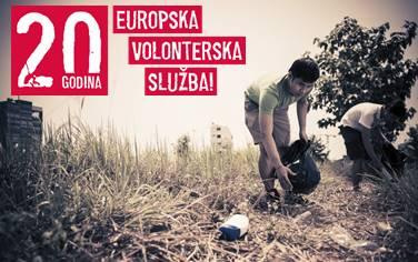 Poziv na proslavu 20 godina Europske volonterske službe koja će se održati 14.listopada u Tehničkom muzeju u Zagrebu  - Slika 1