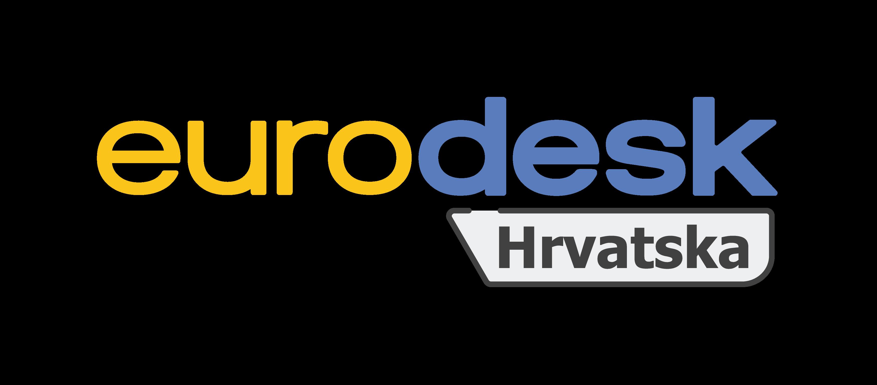 logotip hrvatske Eurodesk mreže