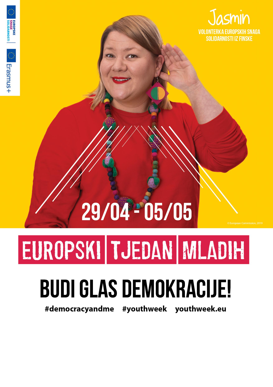 poster Europski tjedan mladih