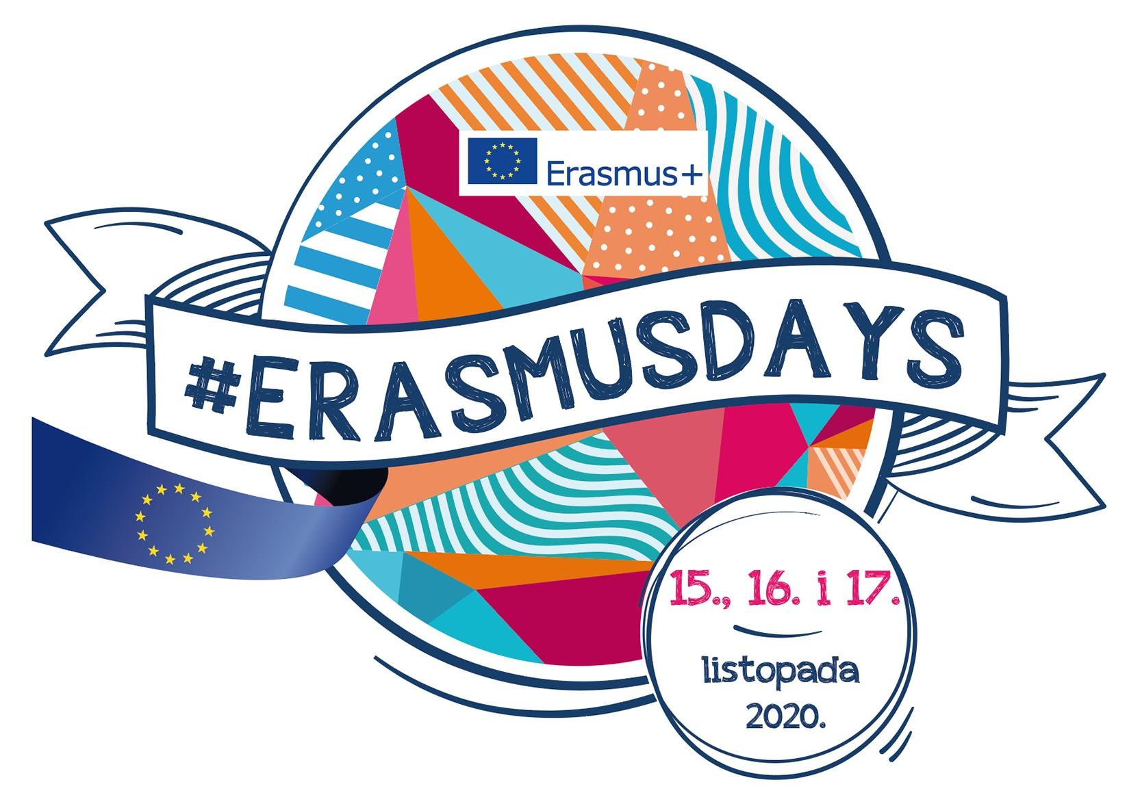 logotip manifestacije Dani Erasmusa 2020.