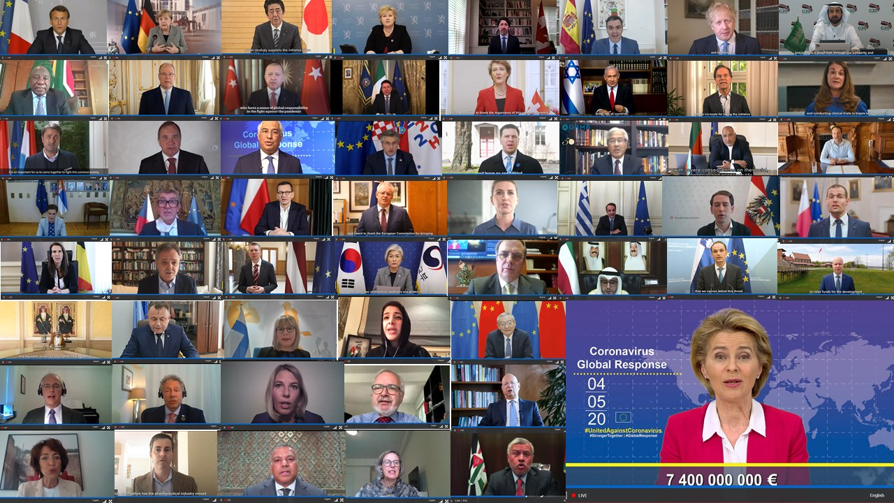 Donatorska konferencija; photo by @EuropeanComission
