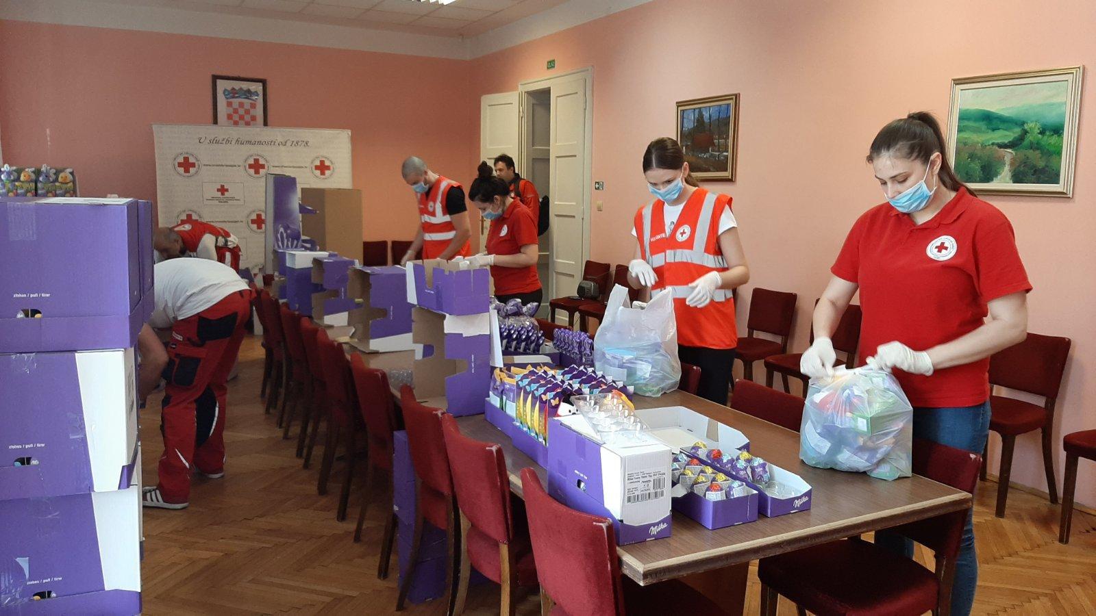 Hvalevrijedan humanitarni rad osječkog Crvenog križa