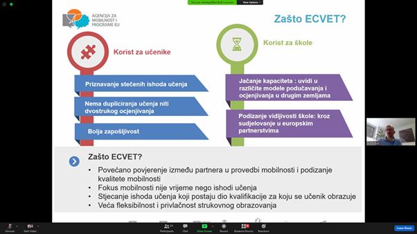 Online radionica o ECVET-u