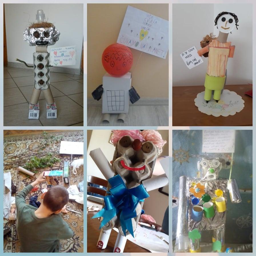 Kreativni učenici iz eTwinning projekta Family Time