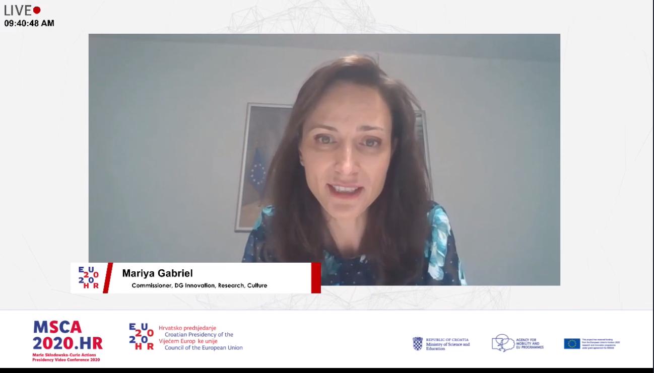 Europska povjerenica Mariya Gabriel