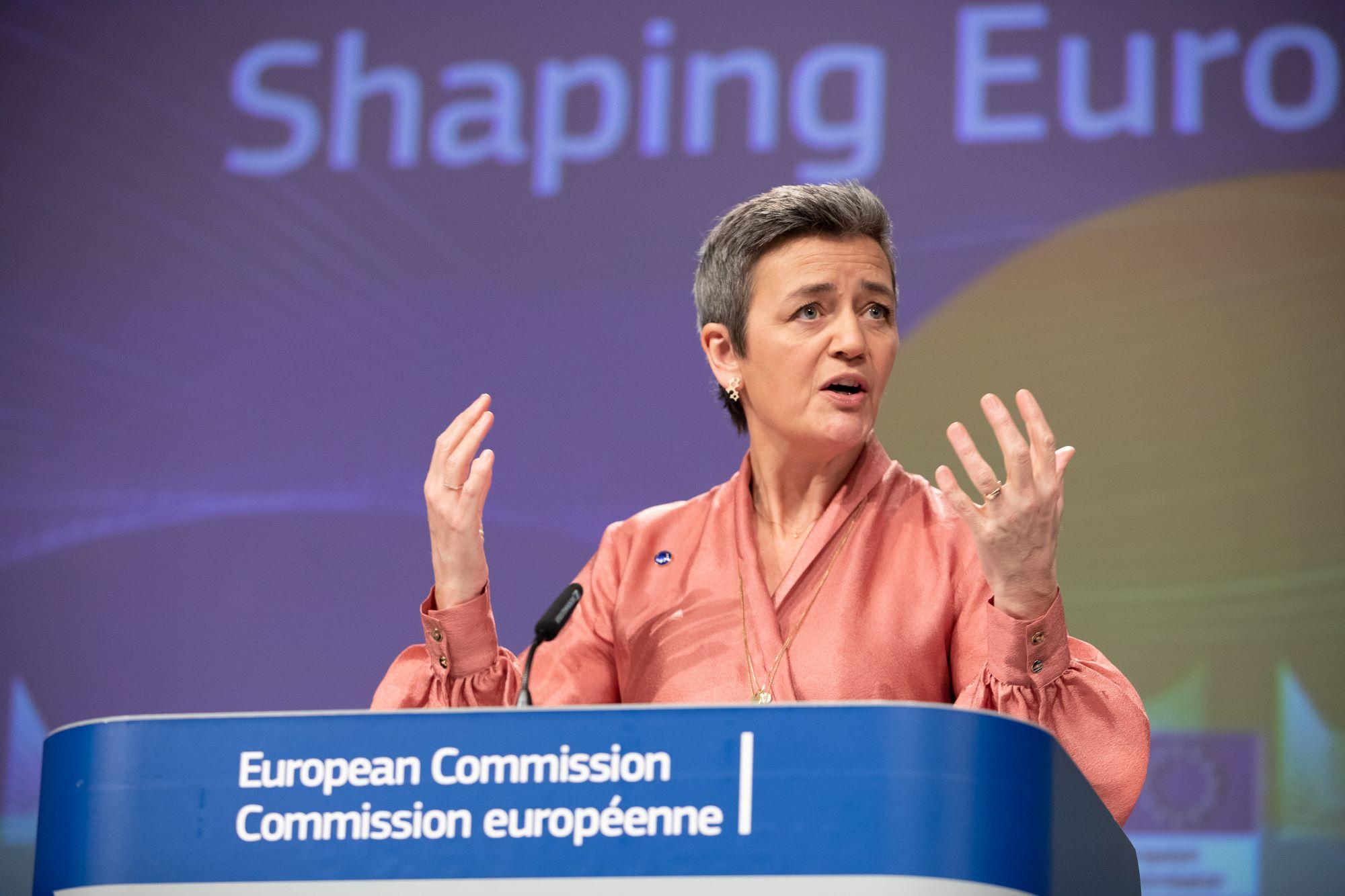 Margrethe Vestager, izvršna potpredsjednica za