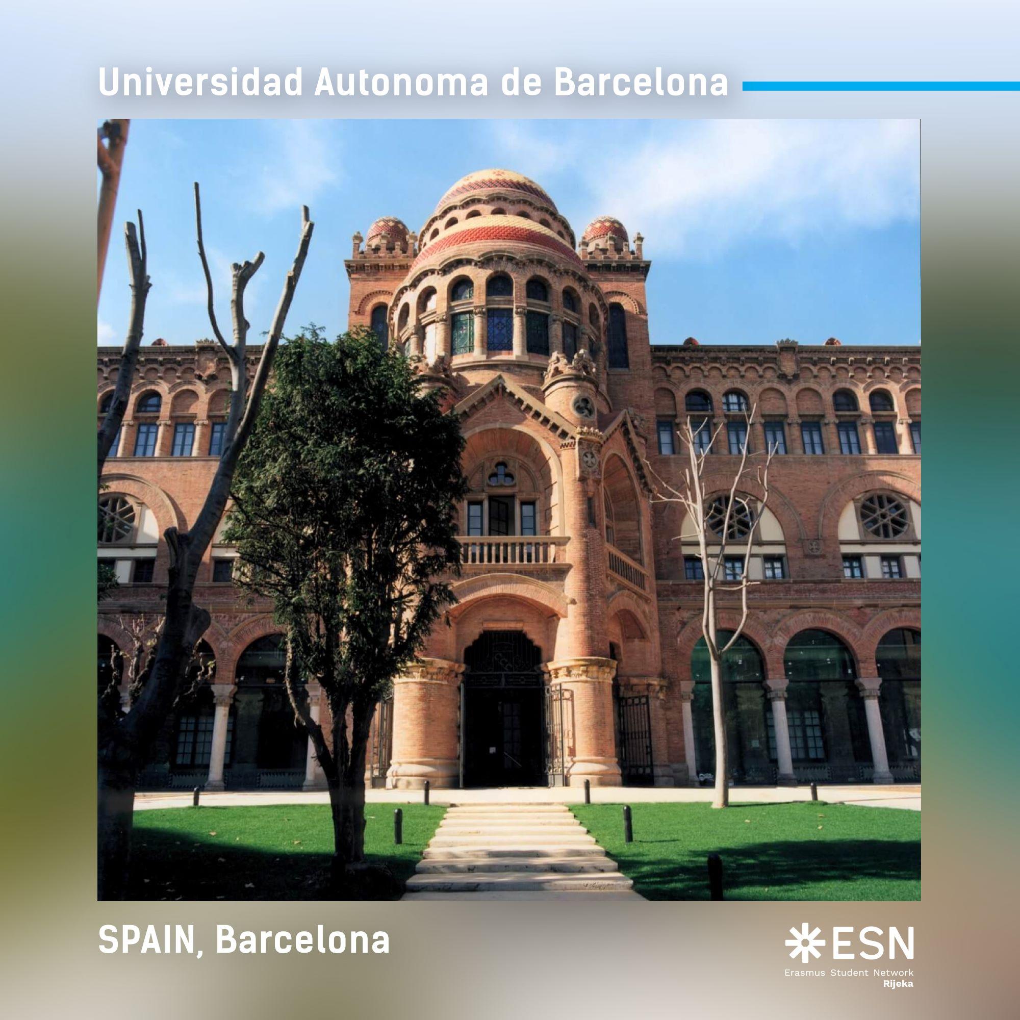 Barcelona, fotografija s Erasmusa