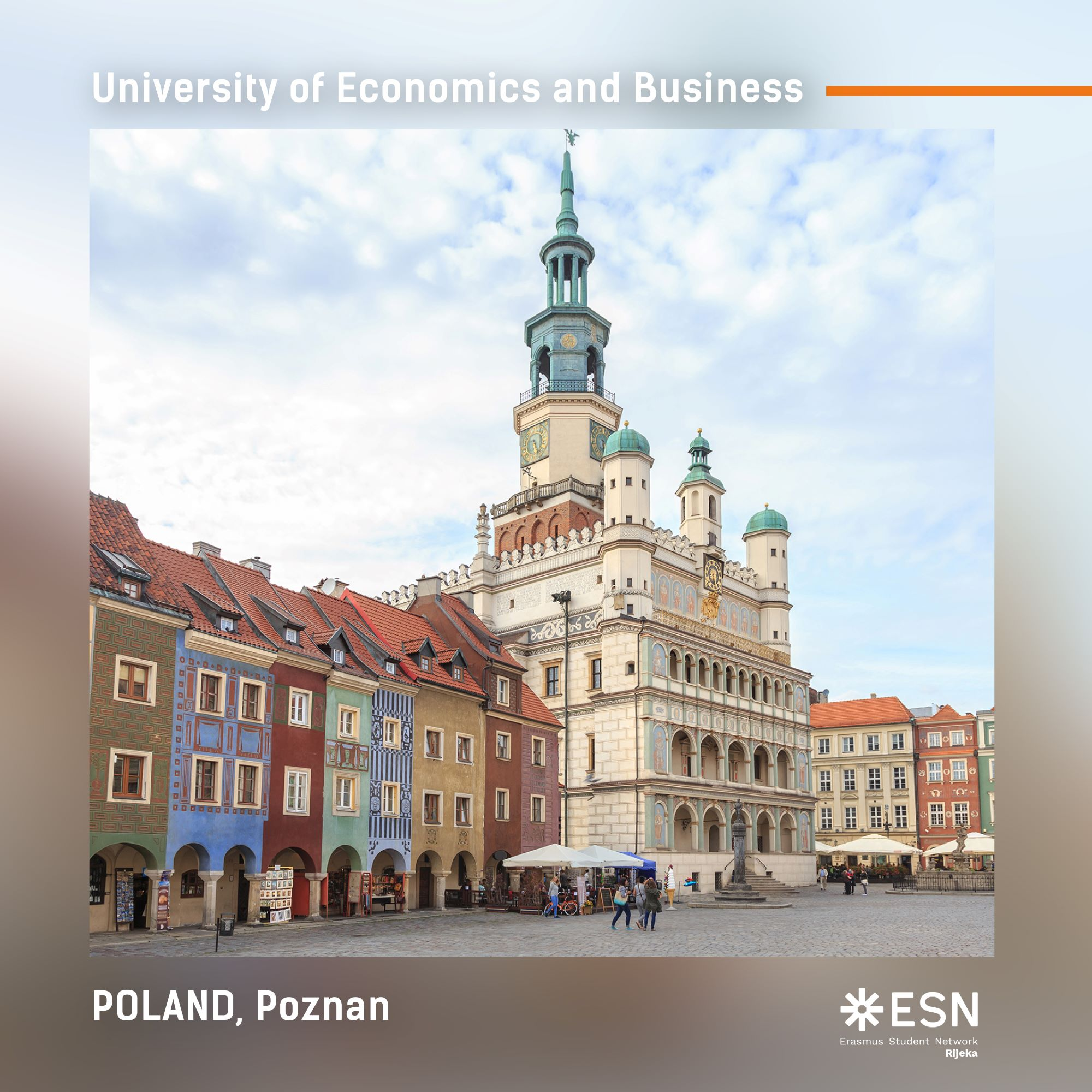 Poznan, fotografija s Erasmusa