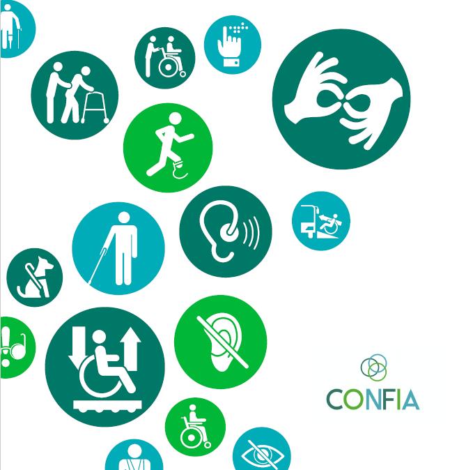 skup simbola za različite oblike invaliditeta