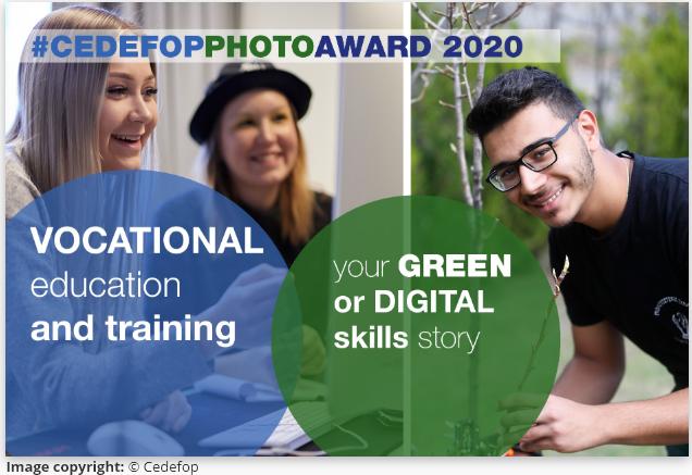 Ilustracija Cedefop fotonatječaja za strukovno obrazovanje 2020.