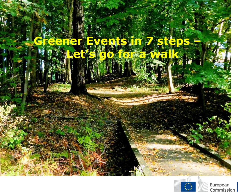 Naslovnica Vodiča za organiziranje zelenih događanja