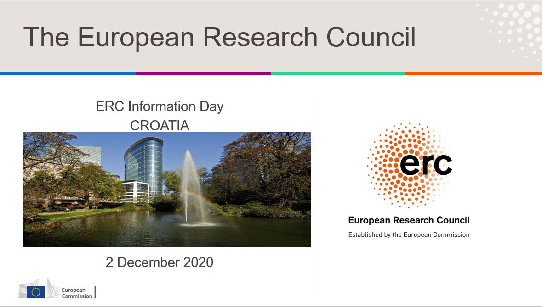 Info dan Europskog istraživačkog vijeća u Hrvatskoj