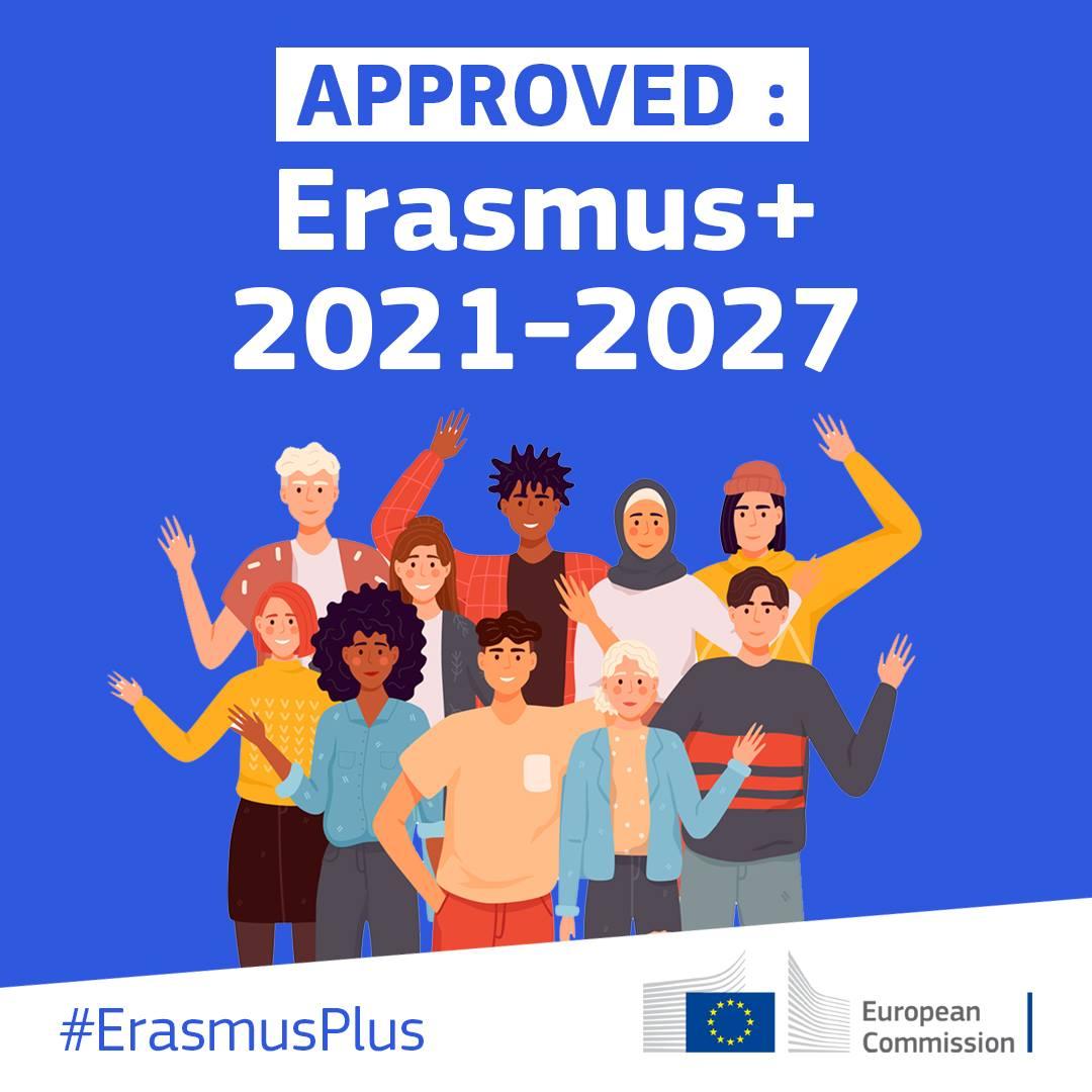 Vizual za Erasmus - Facebook Erasmus+