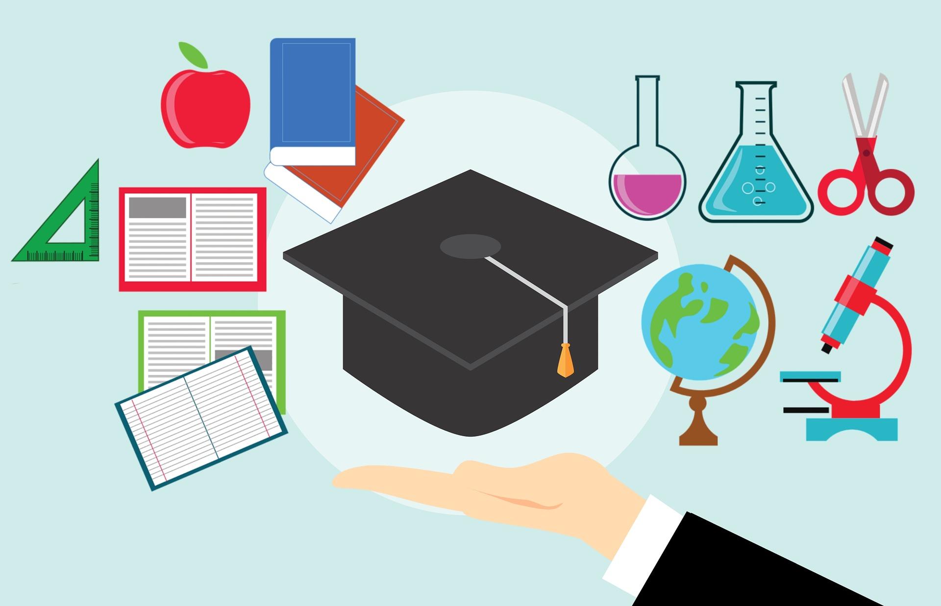 ilustracija za visokoškolsko obrazovanje