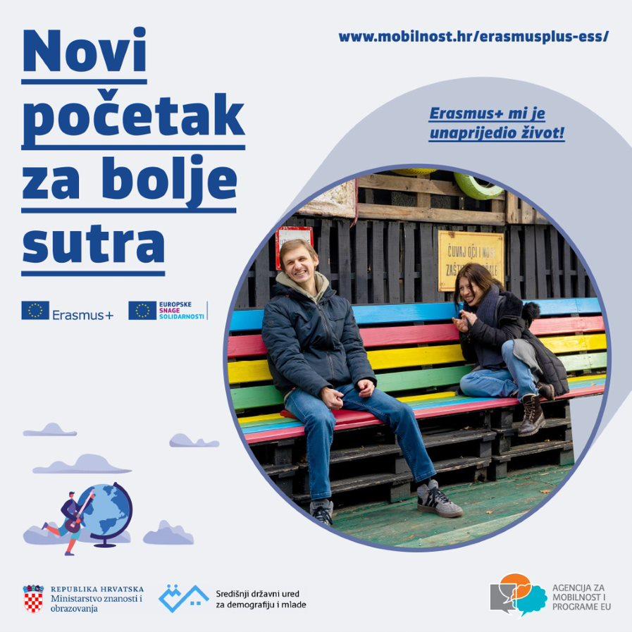 Novi programi Erasmus+ i Europske snage solidarnosti Hrvatskoj već u ovoj godini donose gotovo 30 milijuna eura - Slika 1
