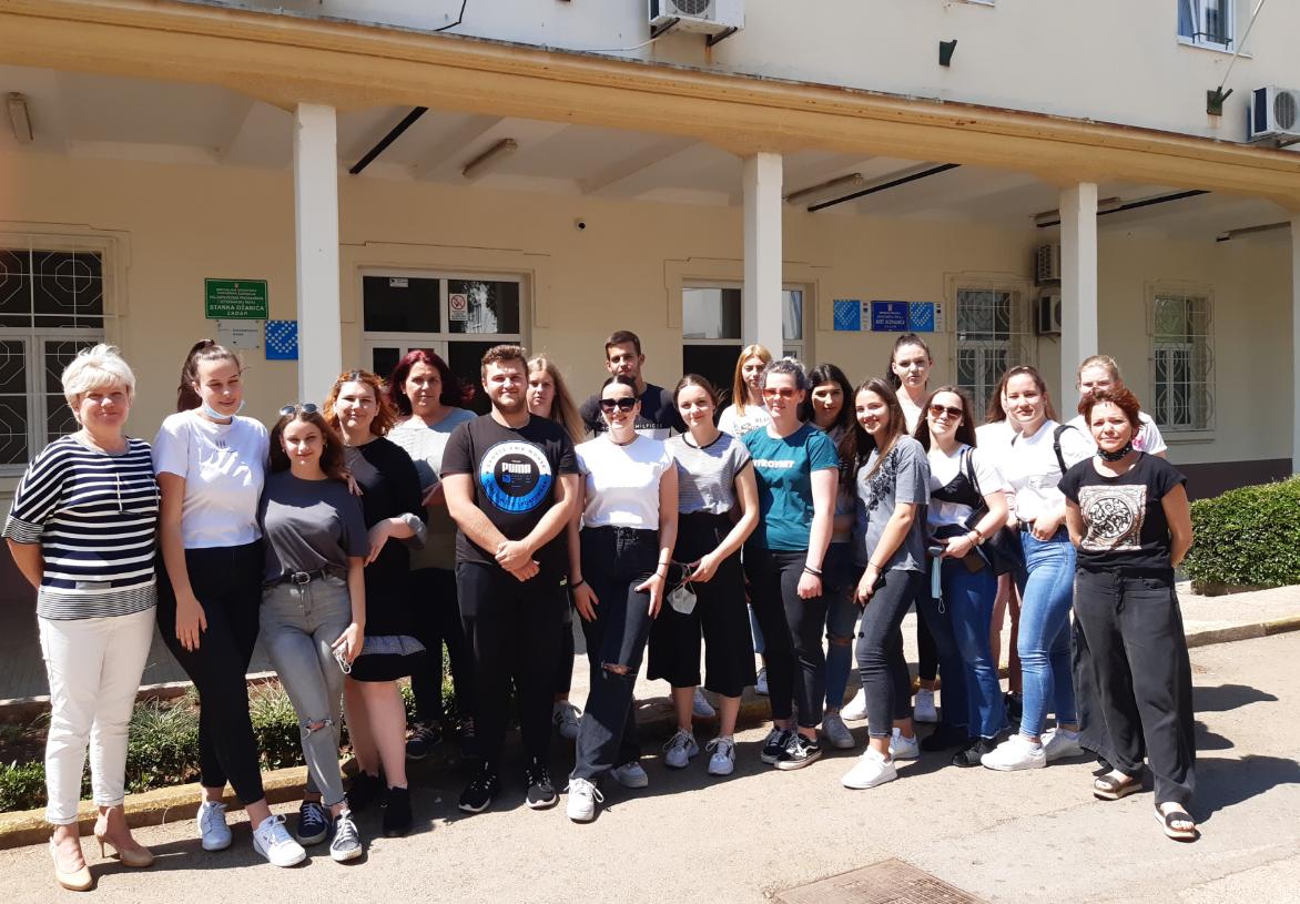 Zadarska strukovna škola uspješno provela  Erasmus mobilnost u Portugal iz vlastite učionice - Slika 1