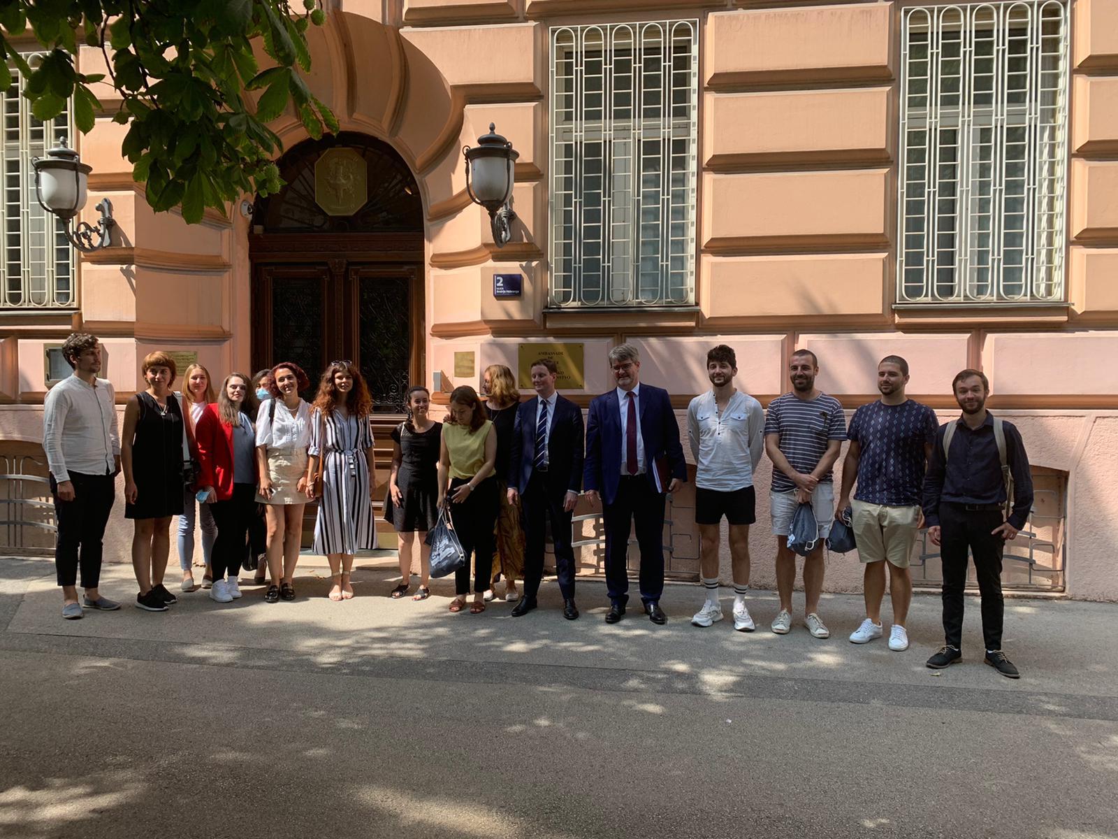 Francuski državni tajnik za EU susreo se u Zagrebu s volonterima Europskih snaga solidarnosti - Slika 1