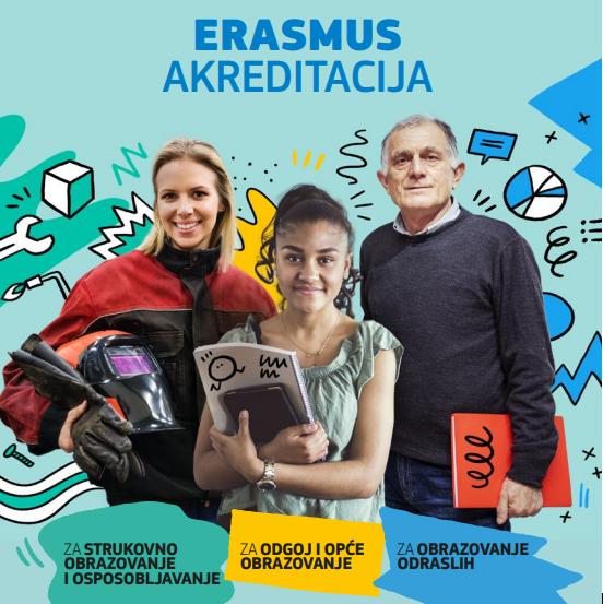 Naslovnica brošure Erasmus akreditacija