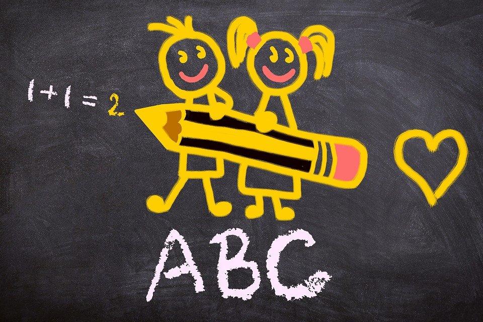 ilustracija za prvi dan škole