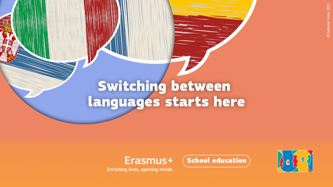 Vizual za Europski dan jezika 2021