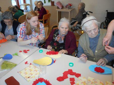Međunarodni volonteri u Domu za starije i nemoćne osobe Poreč