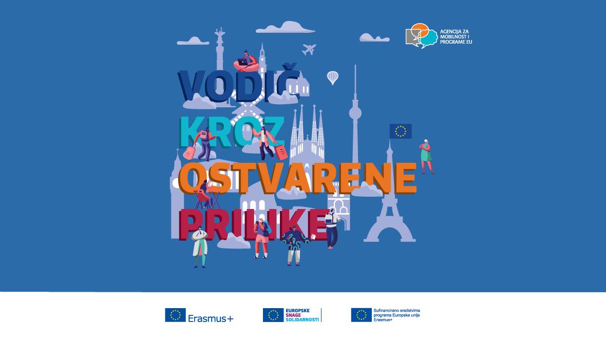 Erasmus+ - Vodič kroz ostvarene prilike - korice