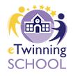 logotip škole s oznakom eTwinning