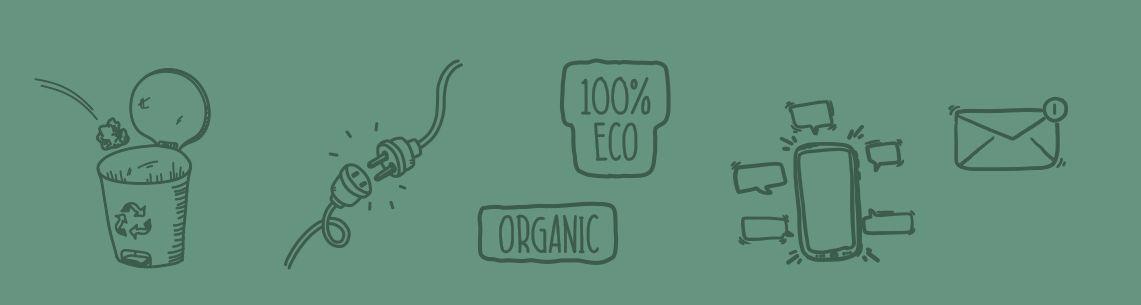 zeleno poslovanje ilustracija