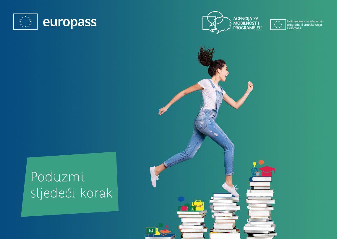 Europass - Poduzmi sljedeći korak ilustracija