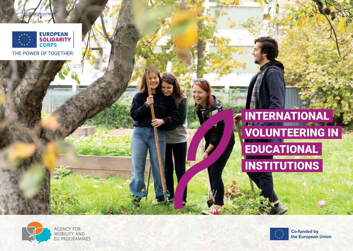 INTERNATIONAL VOLUNTEERING IN EDUCATIONAL INSTITUTIONS